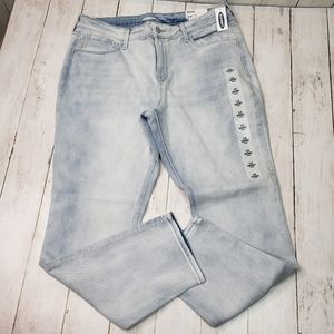 New! Old Navy Skinny Light Wash Jeans Sz 12 Short